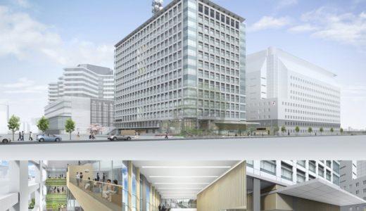 大阪第6地方合同庁舎(仮称)整備等事業の状況 21.01【2022年03月竣工】