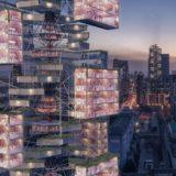 エピデミック・バベルはコロナウイルスパンデミックへの対応として設計された超高層ビルのコンセプト