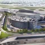 福岡国際空港が複合施設・立体駐車場の新イメージパースを公開!梓設計・隈研吾建築都市設計事務所が参画