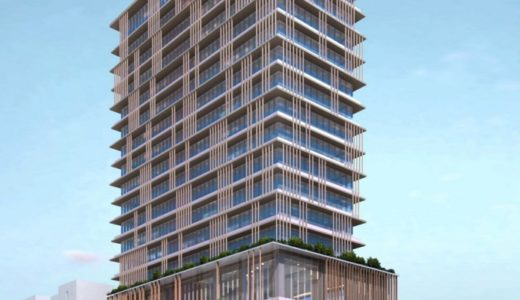 (仮称)茶屋町東急プロジェクト(茶屋町B-2地区)は26階建て2023年7月竣工予定!