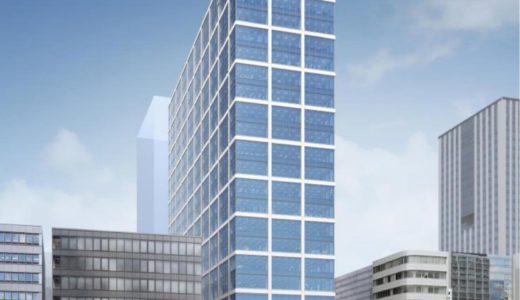 (仮称)本町サンケイビルの建設工事の状況 20.08【2021年10月】
