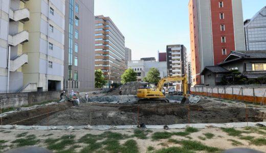 (仮称)新大阪第5ドイビル建設計画の現地に建築計画のお知らせが掲示!【2022年03月竣工予定】