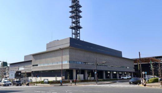 竣工したNHK 新奈良放送会館の建設状況 20.04【2020年9月28日オープン予定】