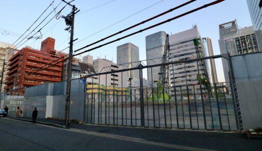 【解体工事中】堂島二丁目特定街区、旧・電通大阪ビルの解体工事の状況 20.04