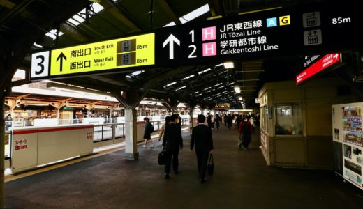 JR西日本ー京橋駅リニューアル工事の状況 20.04