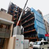 淀屋橋KAKENビル (仮称)科研大阪ビルの建設状況 20.10【2021年03月竣工】