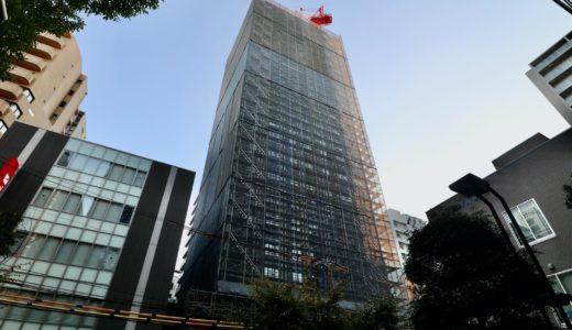 大阪グランベルホテルの建設状況 20.10【2021年1月竣工】