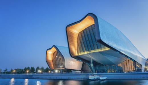 中国国立海洋博物館(National Maritime Museum of China)水生生物に触発された有機的なデザインが凄い