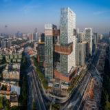 NBBJが深センにあるテンセントのグローバル本社「垂直キャンパス」を完成させる