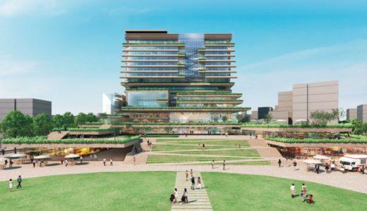 岡山市役所新庁舎は岡山城がそびえるイメージを表現!2026年度の供用開始を目指す