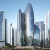 中国・深セン市「OPPO」新本社ビルは、Zaha Hadidが手がけた想像を超えるSF的超高層ビル
