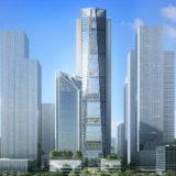 フォスター・アンド・パートナーズが中国招商銀行の深セン超高層ビルのレンダリングを公開
