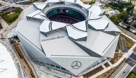 メルセデス・ベンツ・スタジアムの命名権は27年契約で総額3億2400万ドル!