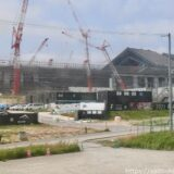 北海道ボールパークFビレッジ「エスコン フィールド北海道」建設工事の状況 21.07【2023年春オープン】
