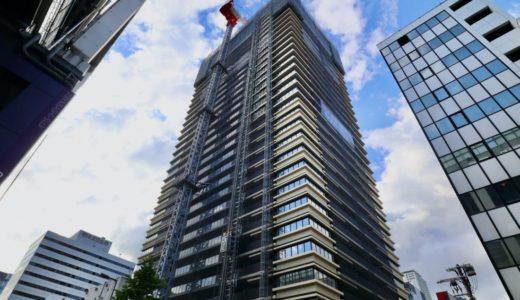 MJR堺筋本町タワー(ザ・船場タワープロジェクト) 建設工事の状況【2021年04月竣工】