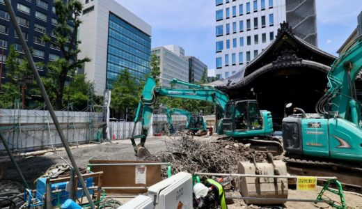 (仮称)三津寺プロジェクト建設工事の状況【2021年9月竣工予定】