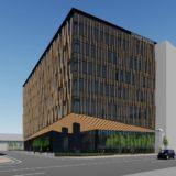 DMG森精機 奈良商品開発センター新築工事の状況 21.08 【2022年春開設予定】
