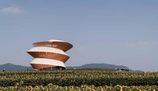深セン近郊にあるdoarchiスタジオの『螺旋の塔』は「未来の長閑さ」を感じる建物