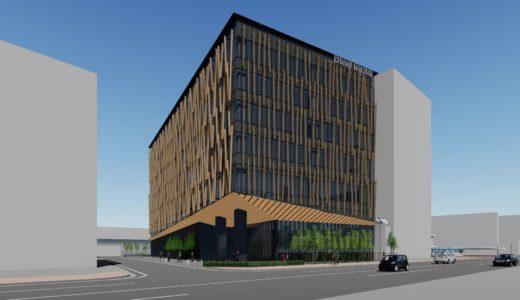 DMG森精機 奈良商品開発センター新築工事 建築デザインは隈研吾氏が担当、JR奈良駅前に2022年春開設