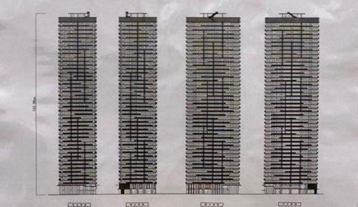(仮称)中央区久太郎町PJ の建設工事の状況 20.10【2024年3月竣工】