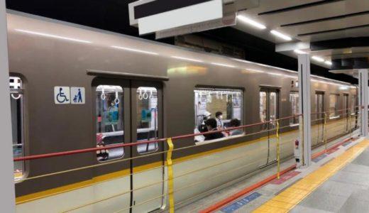 阪神 神戸三宮駅2番ホームに昇降ロープ式ホーム柵を設置、新素材で最大間口13mに対応!【2022年春頃完成】