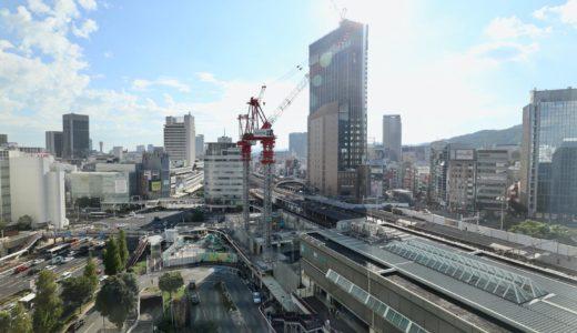 三宮ターミナルビル解体工事の状況 20.09