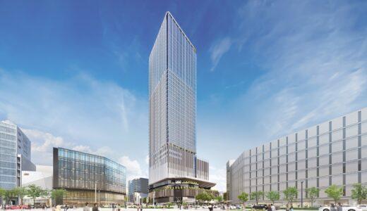 名古屋・栄広場再開発(仮称) 錦三丁目25番街区計画は地上41階、高さ213mに拡大変更!新パースも公開【2026年完成予定】