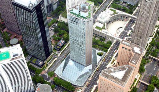 新宿住友ビルの三角ビル・リボーンプロジェクトが完成!全天候型「三角広場」を新設