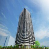 NAGOYA the TOWER(名古屋ザ・タワー)パソニック工場跡地の再開発の状況 21.08【2023年4月竣工予定】