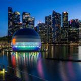 Appleマリーナベイサンズは水上に浮かぶランタン!「水上Apple Store」がシンガポールに近日オープン