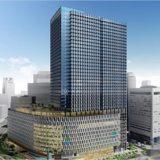 大阪梅田ツインタワーズ・サウス建設工事の状況 21.01