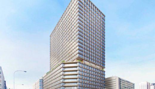 淀屋橋ツインタワー構想『淀屋橋駅西地区都市再生事業 』の状況 20.10【2025年竣工予定】