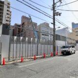 (仮称)西区江戸堀一丁目計画 京阪不動産のタワーマンションの状況 21.03【2024年3月竣工】