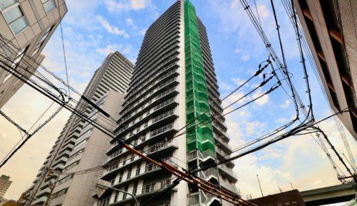 (仮称)ユニゾインエクスプレス大阪南本町の建設工事の状況 20.10【2020年12月竣工】