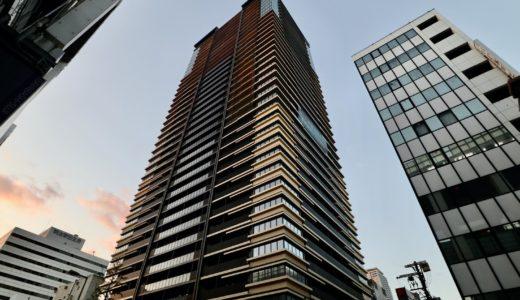 MJR堺筋本町タワー(ザ・船場タワープロジェクト) 建設工事の状況 20.10【2021年4月竣工】