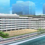 大阪市が中之島6丁目の市有地設置される小中一貫校の状況 21.06【2024年度開校】