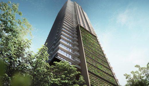 (仮称)グランドメゾン上町一丁目タワープロジェクト 建設工事の状況 20.10【2023年1月竣工】