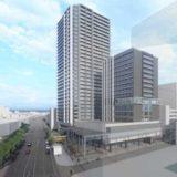 岡山市駅前町一丁目2番3番4番地計画の再開発組合が設立!2022年度に着工し、2026年度竣工の予定