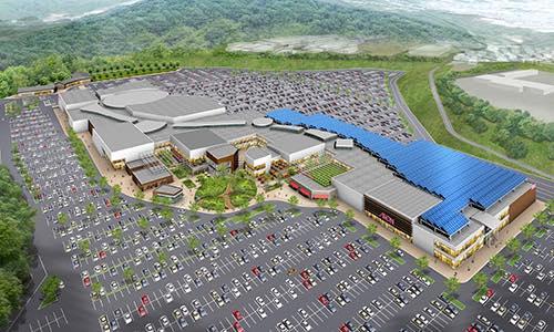 「中山鉱山」跡地に計画中の(仮称)イオンモール土岐は東濃地区で最大級の大型商業施設【2022年度以降の開業予定】