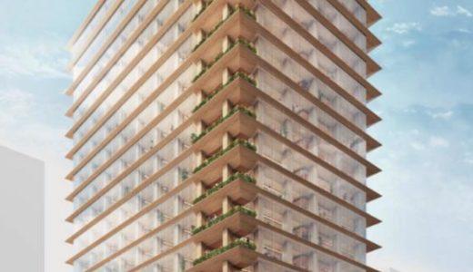 三井不動産と竹中工務店が東京日本橋に国内最大・最高層の木造ハイブリッド高層ビルを建設すると発表!
