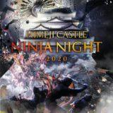姫路城ナイトイベントHIMEJI CASTLE NINJA NIGHT 2020を開催