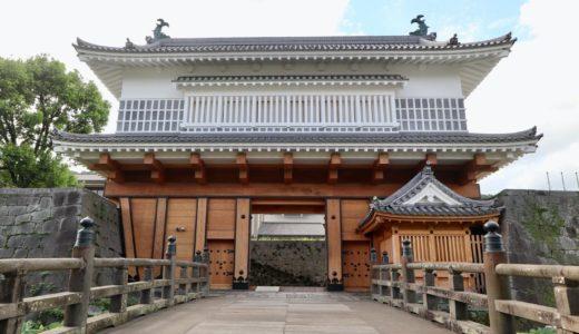鹿児島(鶴丸 )城の御楼門(ごろうもん)の復元が完成!焼失から147年ぶりに復活を遂げる