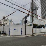 (仮称)港区弁天4丁目集合住宅  建設工事の状況 21.02【2023年03月竣工】