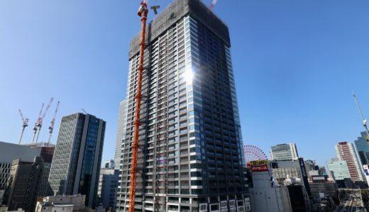 ラ・トゥールが梅田に進出!(仮称)大阪梅田計画の建設状況 20.10【2022年3月竣工】