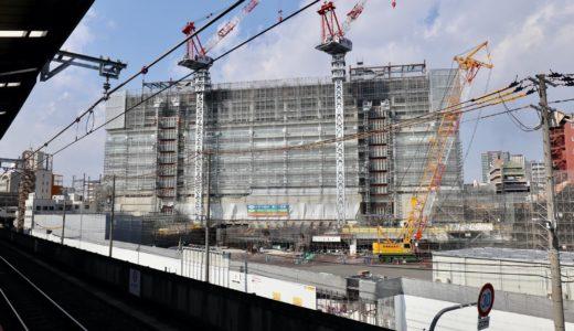 星野リゾート OMO7 大阪新今宮 建設工事の状況 20.11【2022年4月開業予定】