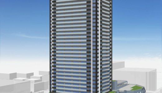 柳ケ瀬グラッスル35(高島屋南地区第一種市街地再開発事業)建設工事の状況 20.09
