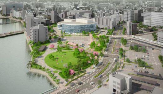 福岡市拠点文化施設整備及び須崎公園再整備事業 福岡市が市民会館と須崎公園をPFIで一体再整備