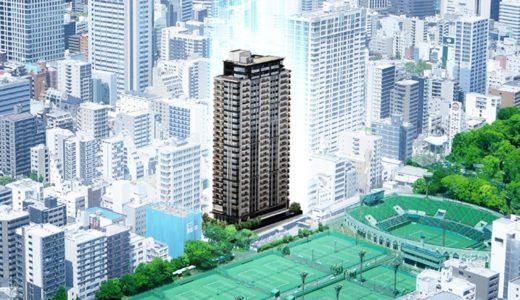 クラッシィタワー靱公園 建設工事の状況  21.04【2022年03月竣工】