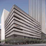 (仮称)ホテル京阪 なんば グランデが建設される難波中二丁目開発計画「C敷地」の状況 20.11【2023年春開業予定】