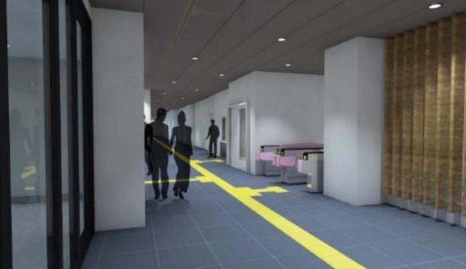 南海が新今宮駅のリニューアルを実施。星野リゾートの開発に合わせて1階南北通路や駅外壁を美装化
